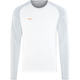 Bergans Slingsby Long Sleeve Men White/Alu/Pumpkin